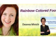 rainbow colored food